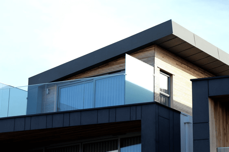 What is a flat roof?